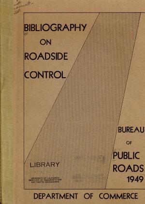 Bibliography on Roadside Control PDF