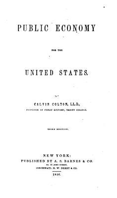 Public Economy for the United States PDF