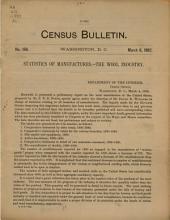 Census Bulletin: Issue 169