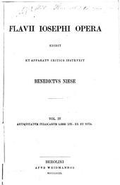 Flavii Iosephii opera ed. et apparatv critico instrvxit Benedictvs Niese...