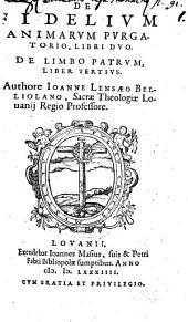 De fidelium animarum purgatorio: libri II