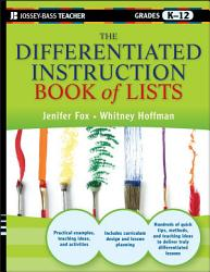 The Differentiated Instruction Book Of Lists Book PDF