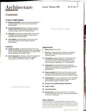 Architecture Minnesota PDF