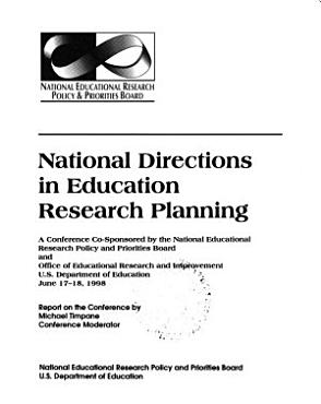 National Directions in Education Research Planning PDF