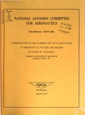 Technical Note - National Advisory Committee for Aeronautics: Issues 3951-3960