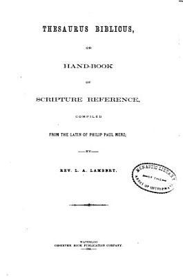 Thesaurus Biblicus