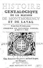 Histoire De La Maison De Montmorency