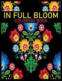 In Full Bloom Coloring Book PDF