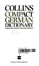 Collins Compact German Dictionary