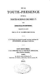 De la Toute-présence et de la toute-science de Dieu...