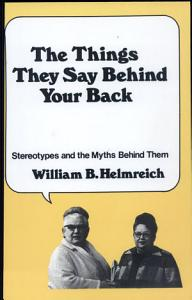 The Things They Say Behind Your Back PDF