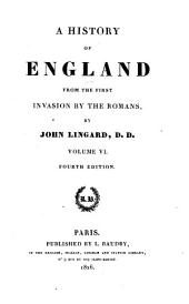A History of England from the First Invasion by the Romans: 6