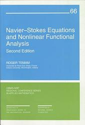 Navier-Stokes Equations and Nonlinear Functional Analysis: Second Edition