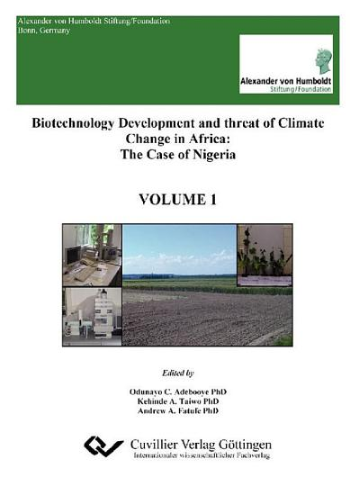Biotechnology Development and threat of Climate Change in Africa PDF