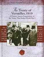 The Treaty of Versailles  1919 PDF