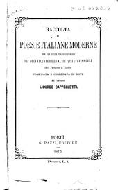 Raccolta di poesie italiane moderne