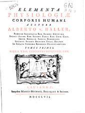 Elementa physiologiae corporis humani: Volume 3