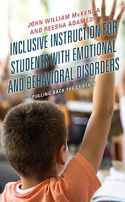 Inclusive Instruction for Students with Emotional and Behavioral Disorders PDF