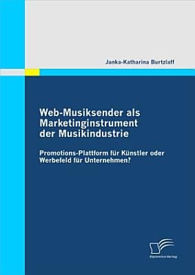 Web Musiksender Als Marketinginstrument Der Musikindustrie PDF