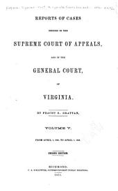 Cases Decided in the Supreme Court of Appeals of Virginia: Volume 46