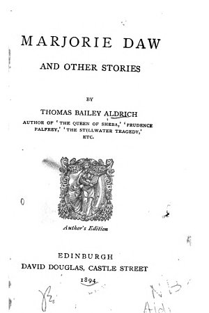 Marjorie Daw  and Other Stories
