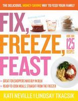 Fix  Freeze  Feast PDF