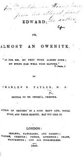 Edward; or, Almost an Owenite