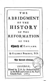 The Abridgment of The History of the Reformation of the Church of England: Book 1