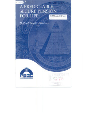 A Predictable  Secure Pension for Life PDF