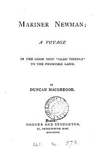 Mariner Newman  a voyage in the good ship  Glad Tidings  to the promised land PDF