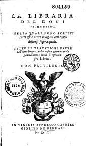 La libraria del Doni Fiorentino