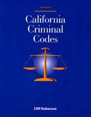 California Criminal Codes