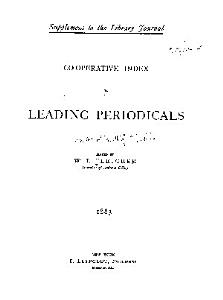 Co operative Index to Leading Periodicals PDF