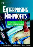 Enterprising Nonprofits PDF