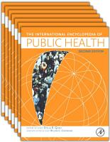 International Encyclopedia of Public Health PDF