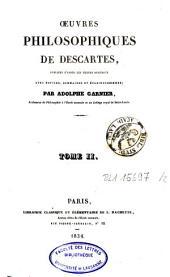 Oeuvres philosophiques: Volume2