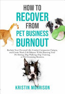 How to Recover from Pet Business Burnout PDF