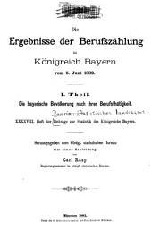 Beiträge zur Statistik Bayerns: Ausgaben 48-49