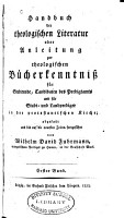 Handbuch der theologischen Literatur PDF