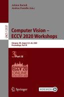 Computer Vision - ECCV 2020 Workshops