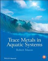 Trace Metals in Aquatic Systems PDF
