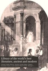 Library of the World's Best Literature, Ancient and Modern: A-Z