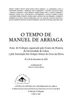 O tempo de Manuel de Arriaga PDF