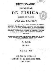 Diccionario universal de Física: Volumen 7