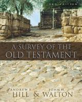 A Survey of the Old Testament PDF