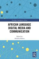 African Language Digital Media and Communication PDF