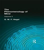 The Phenomenology of Mind PDF