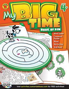 My Big Time Book of Fun  Ages 4   7 PDF