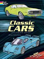 Classic Cars Coloring Book PDF
