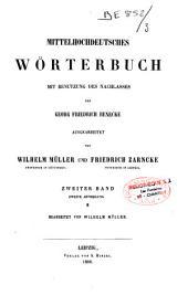 Mittelhochdeutsches Wörterbuch